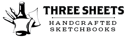 Three Sheets Handcrafted Sketchbooks