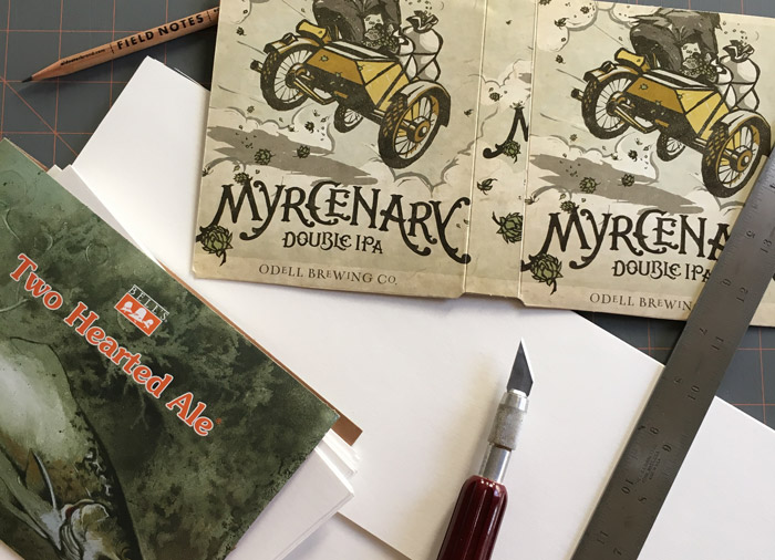 Sketchbooks being born
